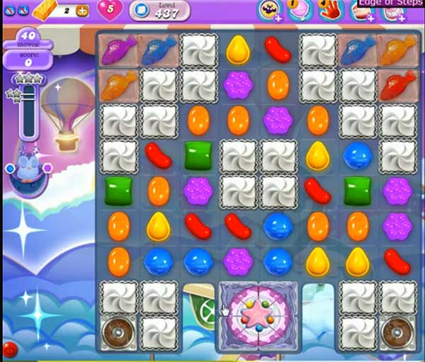 Candy Crush Dreamworld Level 437