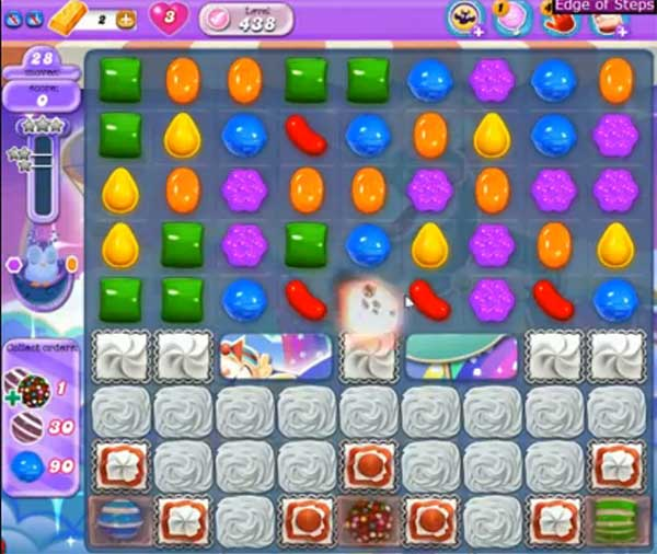 Candy Crush Dreamworld Level 438