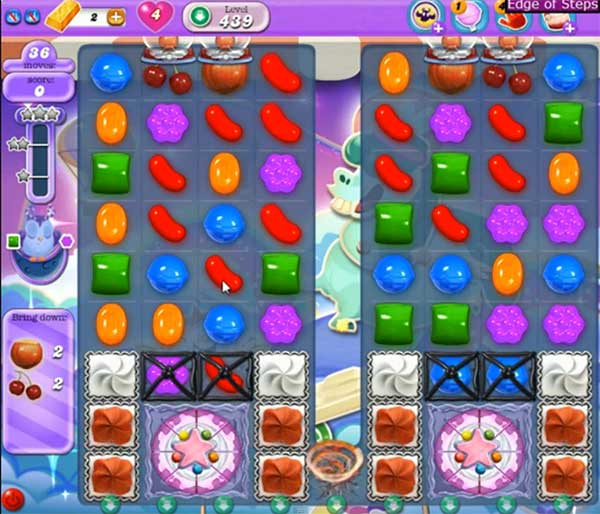 Candy Crush Dreamworld Level 439