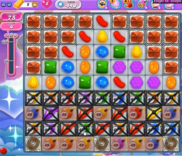 Candy Crush Dreamworld Level 440