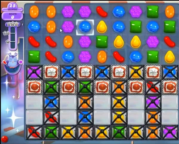 Candy Crush Dreamworld Level 443