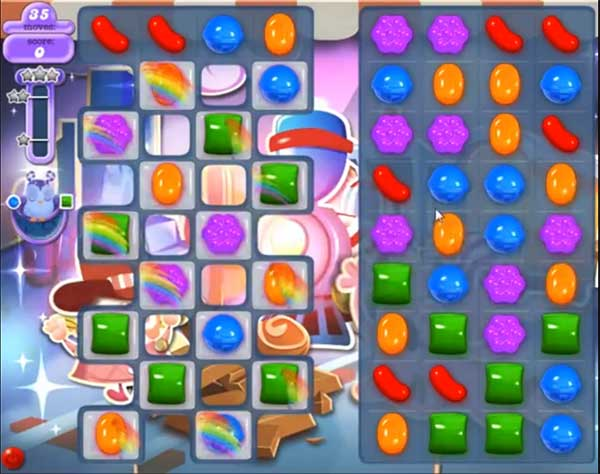 Candy Crush Dreamworld Level 444