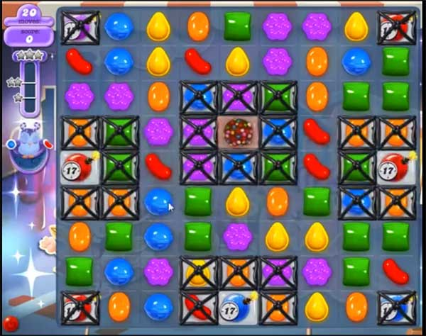 Candy Crush Dreamworld Level 446