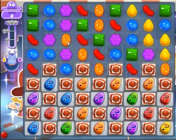 Candy Crush Dreamworld Level 447
