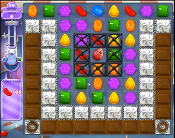 Candy Crush Dreamworld Level 448