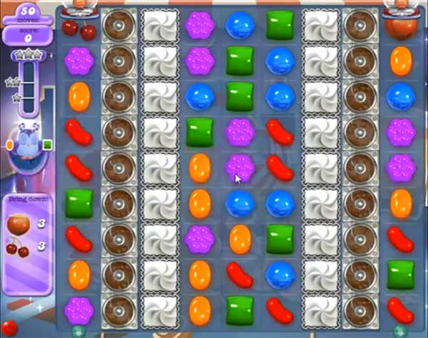 Candy Crush Dreamworld Level 454
