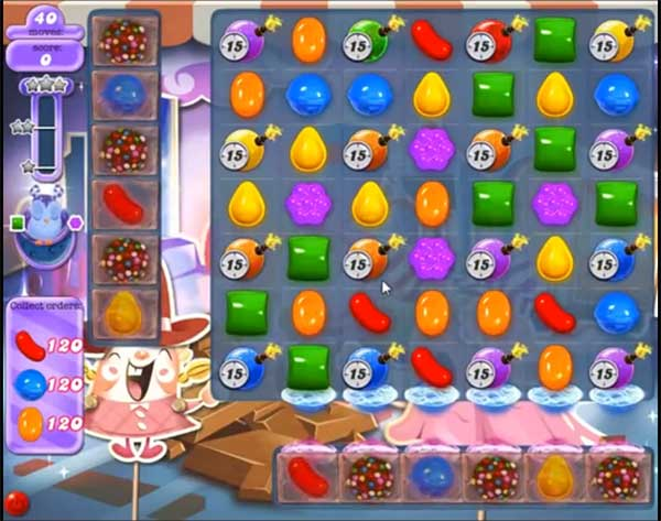 Candy Crush Dreamworld Level 455