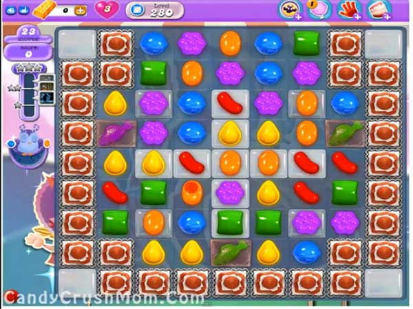 Candy Crush Level 280