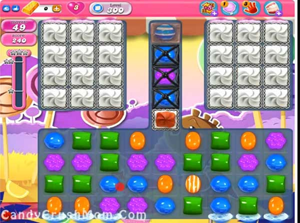 Candy Crush Level 300