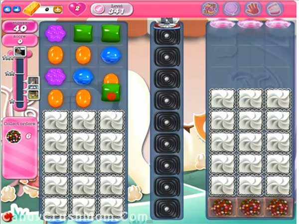 Candy Crush Level 341