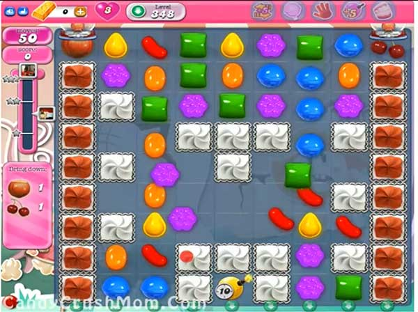 Candy Crush Level 348