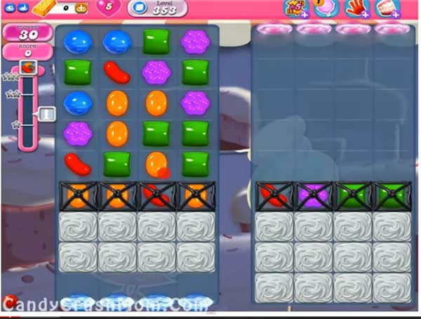 Candy Crush Level 353