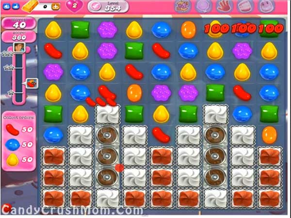 Candy Crush Level 354