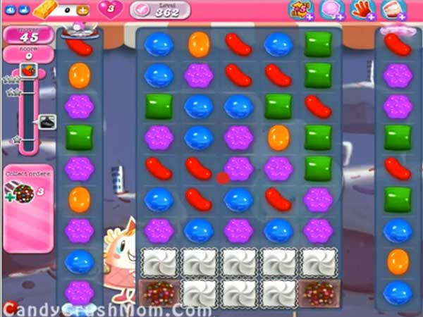 Candy Crush Level 362