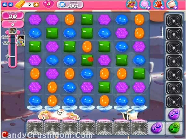 Candy Crush Level 363