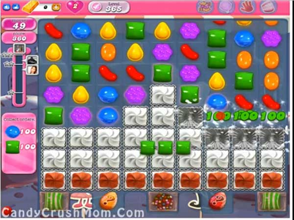 Candy Crush Level 365