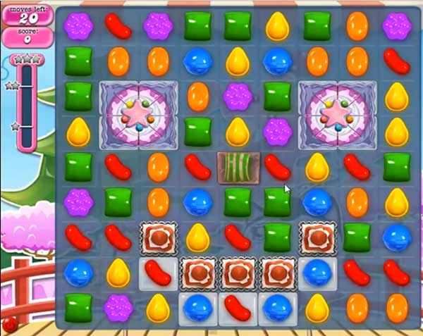 Candy Crush Level 366