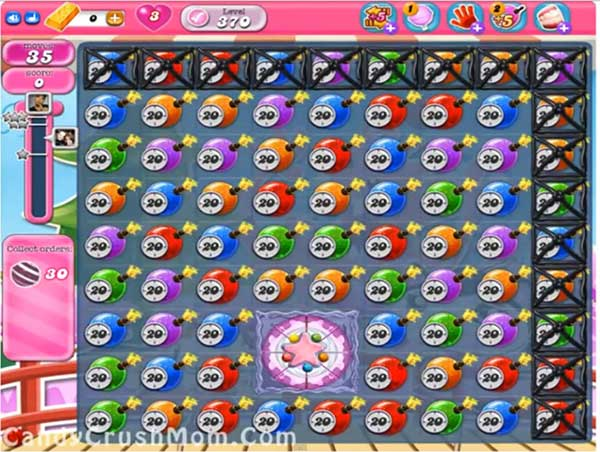 Candy Crush Level 370