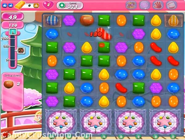 Candy Crush Level 371