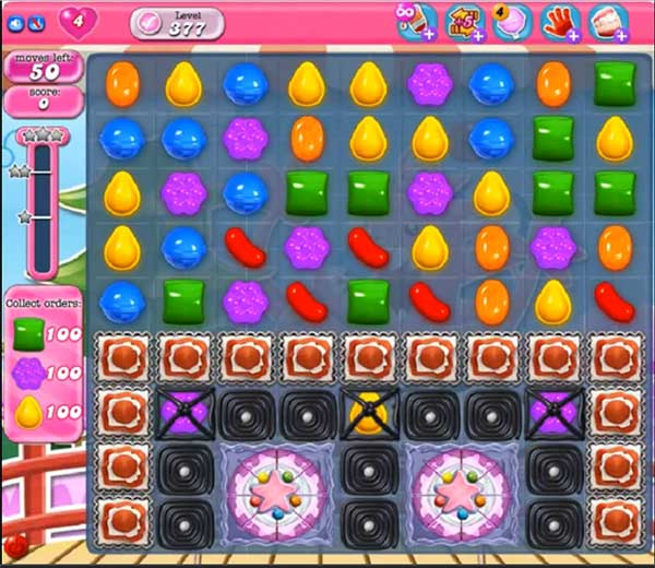 Candy Crush Level 377