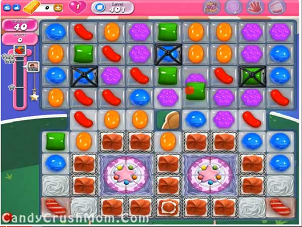 Candy Crush Level 401