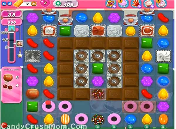 Candy Crush Level 406