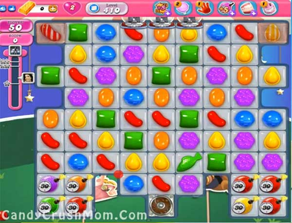 Candy Crush Level 410