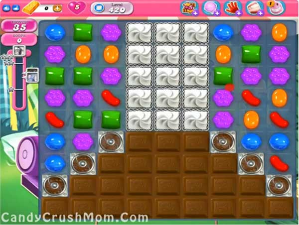 Candy Crush Level 420