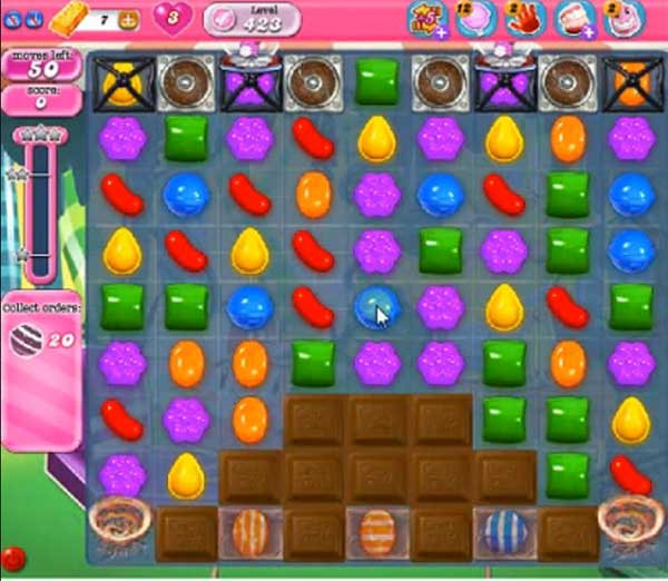 Candy Crush Level 423