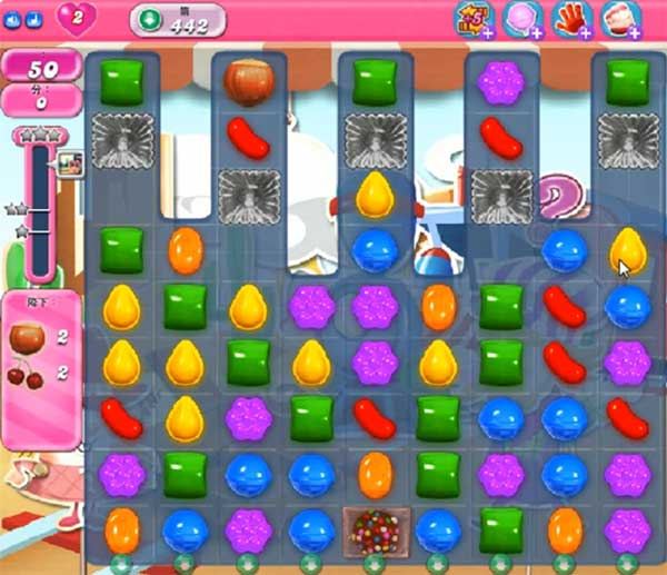 Candy Crush Level 442