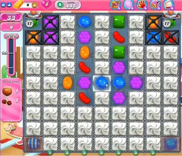 Candy Crush Level 445