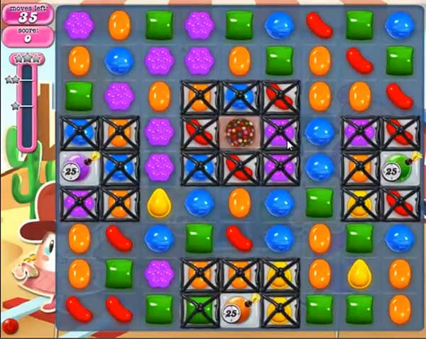 Candy Crush Level 446
