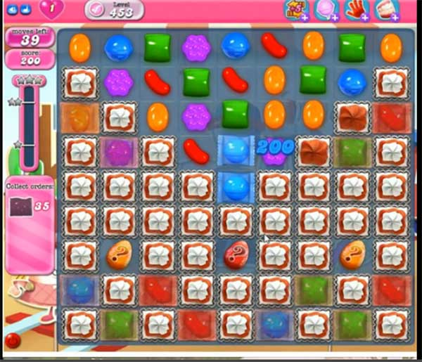Candy Crush Level 453