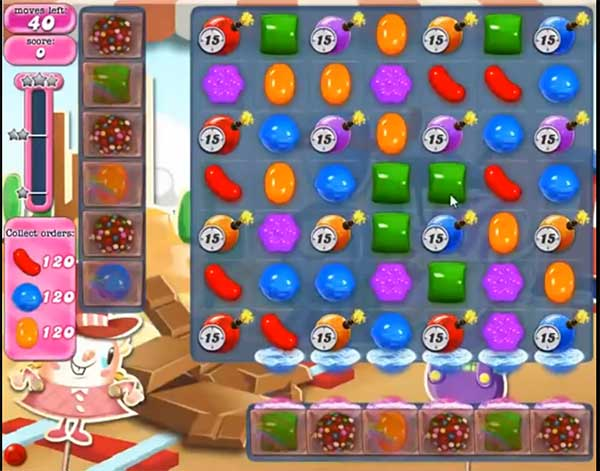 Candy Crush Level 455