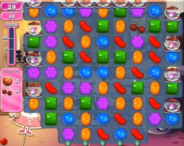 Candy Crush Level 521