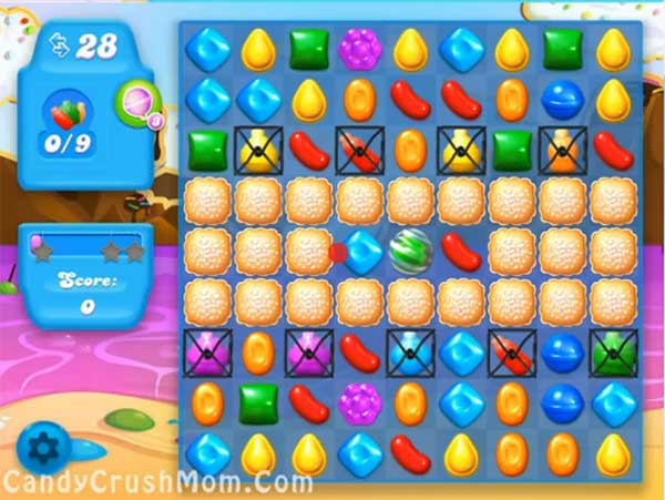 Candy Crush Level Soda 21