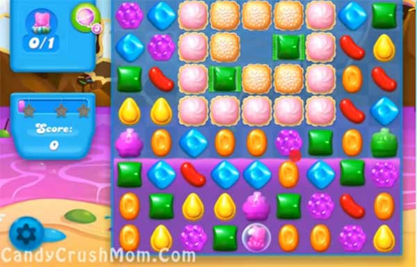 Candy Crush Level Soda 22