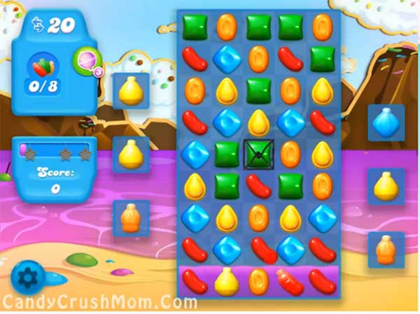 Candy Crush Level Soda 27