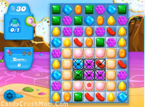 Candy Crush Level Soda 28