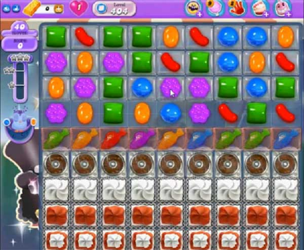 candy crush dreamworld level 404