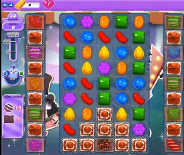 candy crush dreamworld level 405