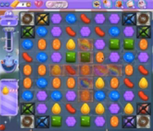 candy crush dreamworld level 408