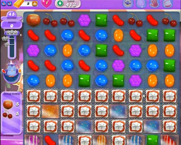 candy crush dreamworld level 413