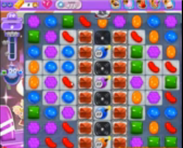 candy crush dreamworld level 416