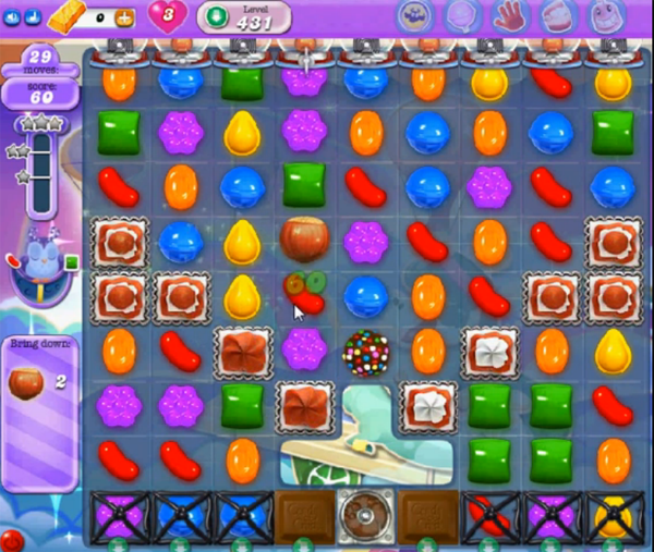 candy crush dreamworld level 431