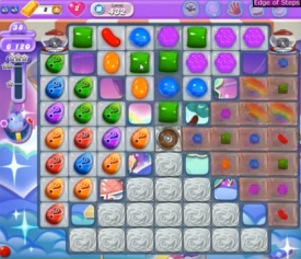 candy crush dreamworld level 432