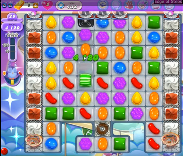 candy crush dreamworld level 433