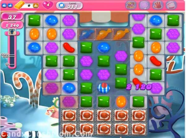 candy crush level 311