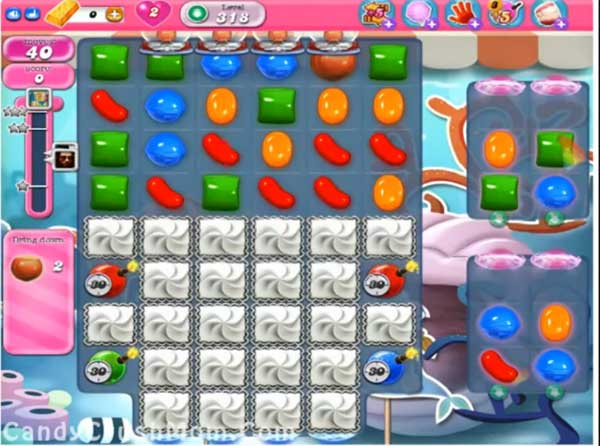 candy crush level 318