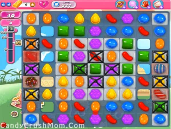 candy crush level 327